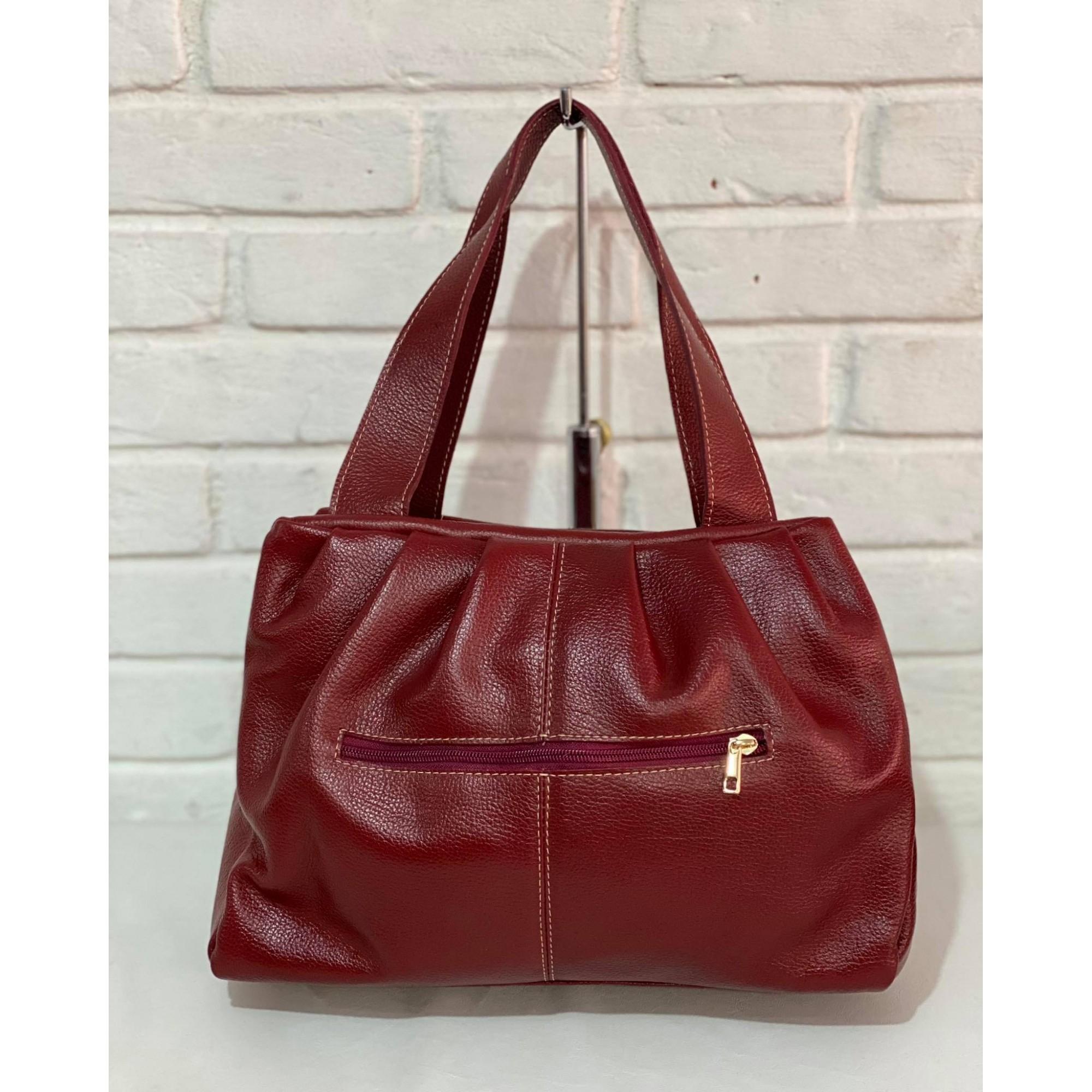 Bolsa Prata Couro 1010974 Ruby