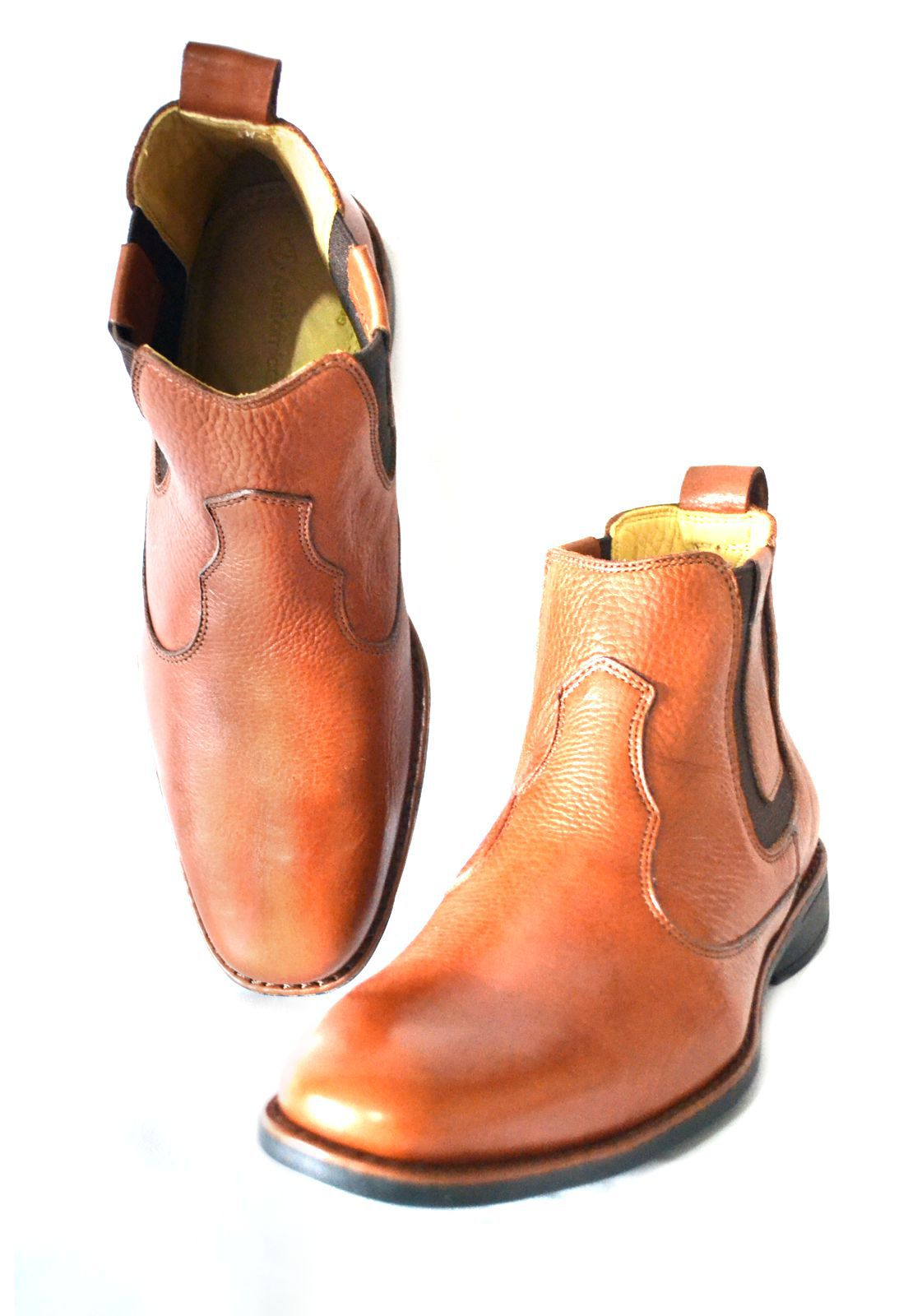 Botina Masculina Anatomic Gel Boots 1010294 Café