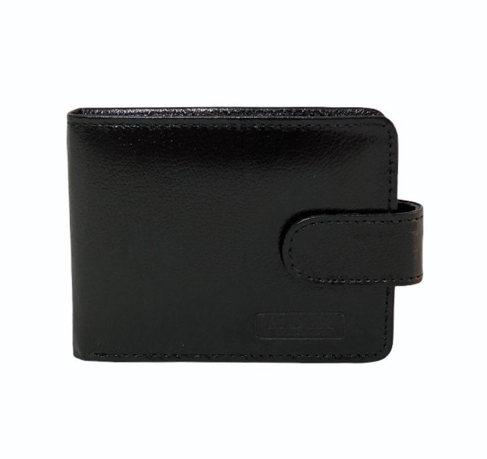 Carteira e Porta Cartões Líder Preta Com Fecho 1010757