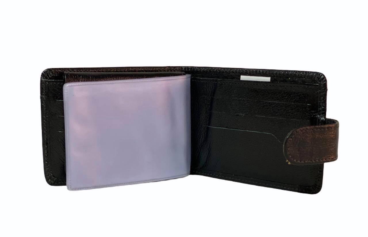 Carteira e Porta Cartões Líder Preta com Fecho 1010753