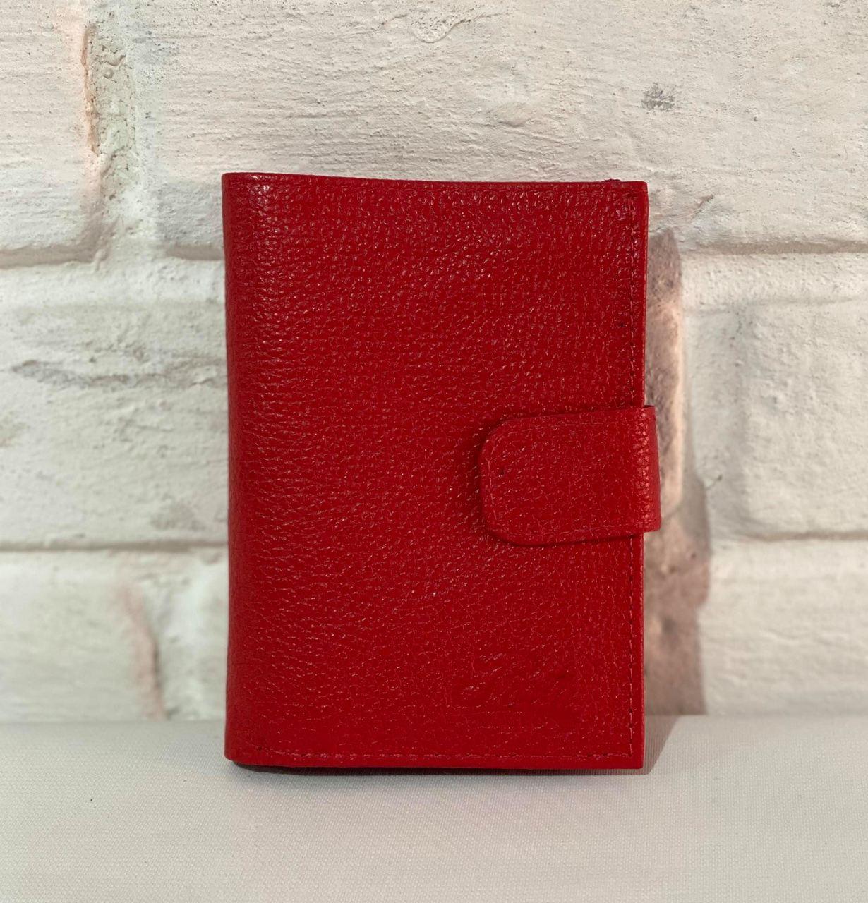 Carteira e Porta Cartões Vermelha 1010498