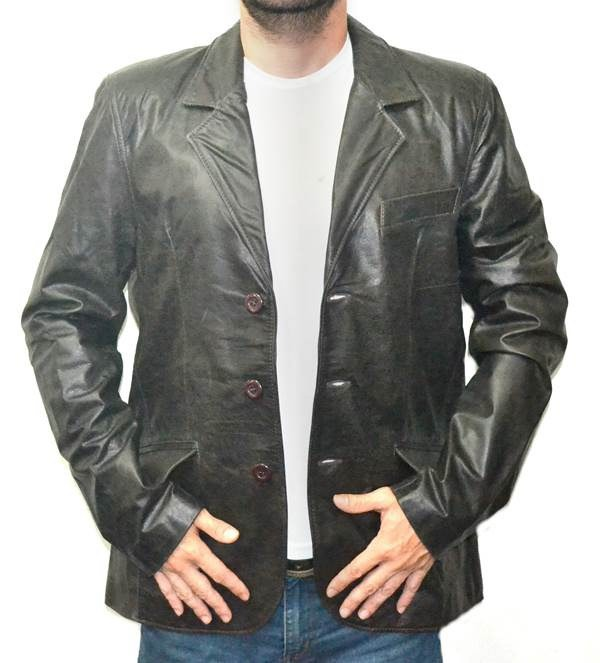 Casaco Masculino 900 Estilo Blazer Preto