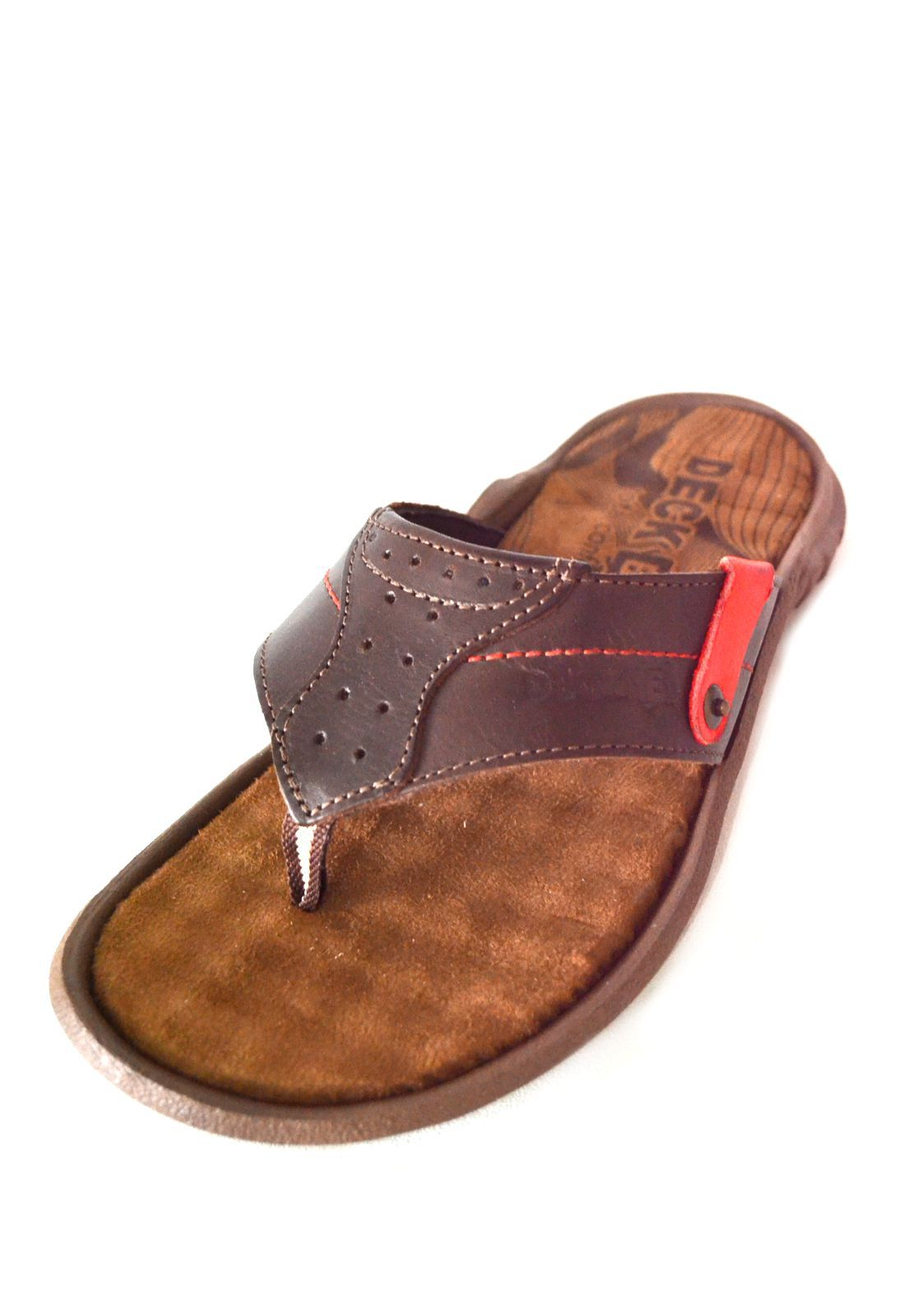 Chinelo Deck B 1010195 Chocolate
