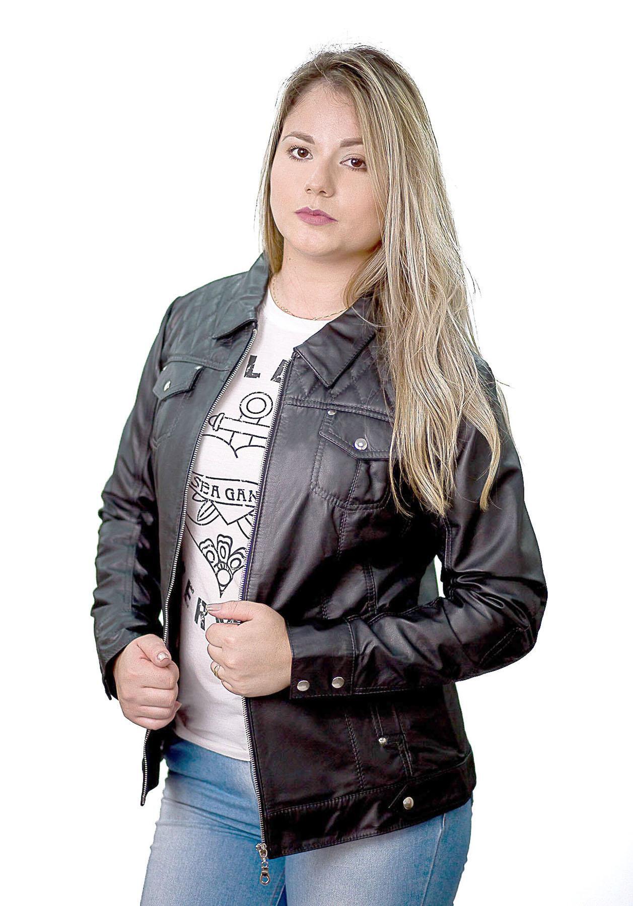 Jaqueta Feminina 187 Preto