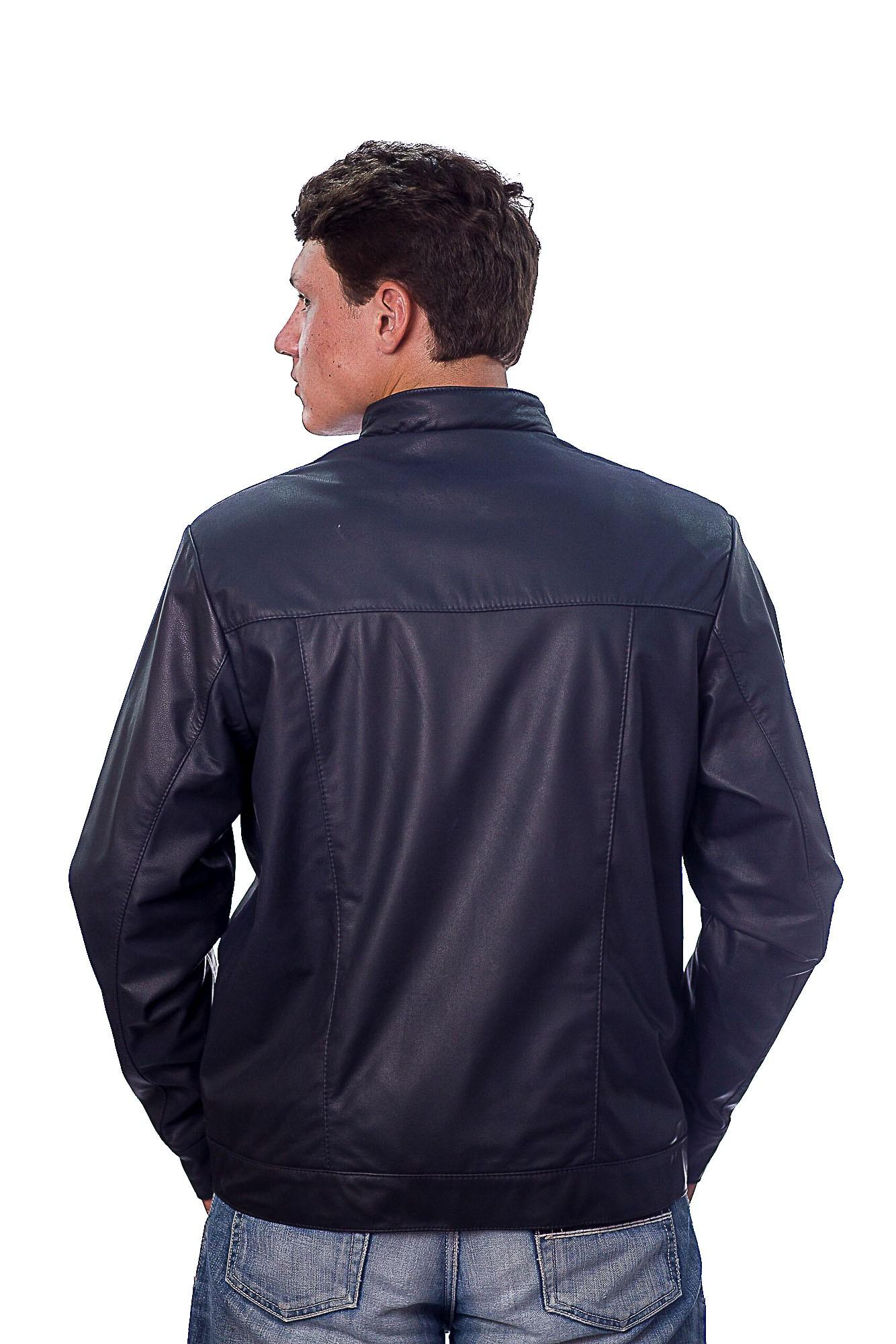 Jaqueta Masculina em Couro 380 Ranger Marinho