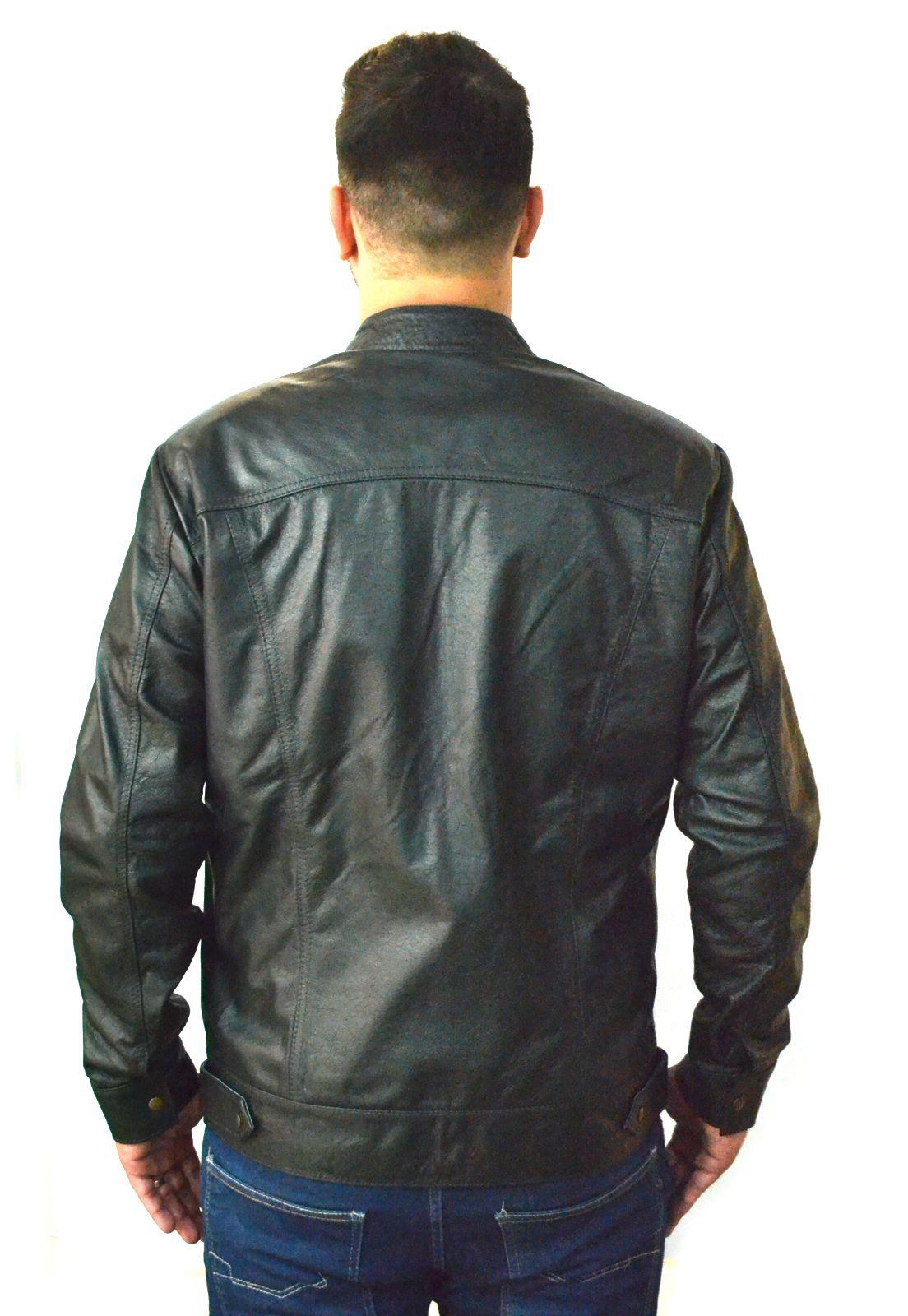 Jaqueta Masculina SLIM 121 Preta 1010435