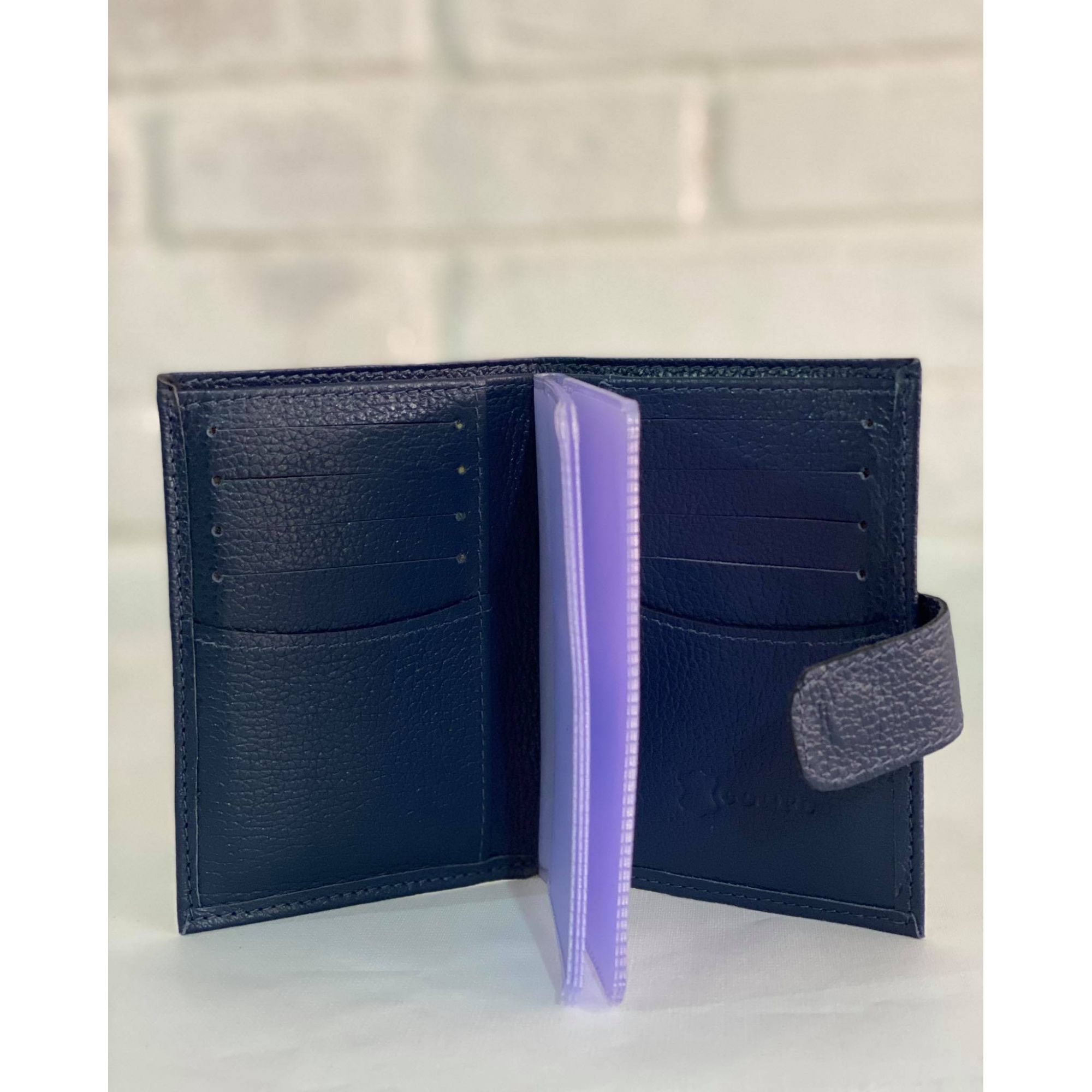 Carteira e porta cartão Azul Marinho 1010499