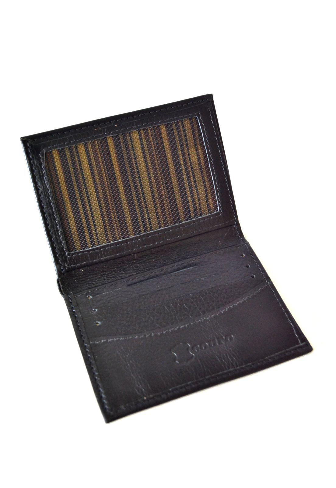 Porta cartões Preto 1009432