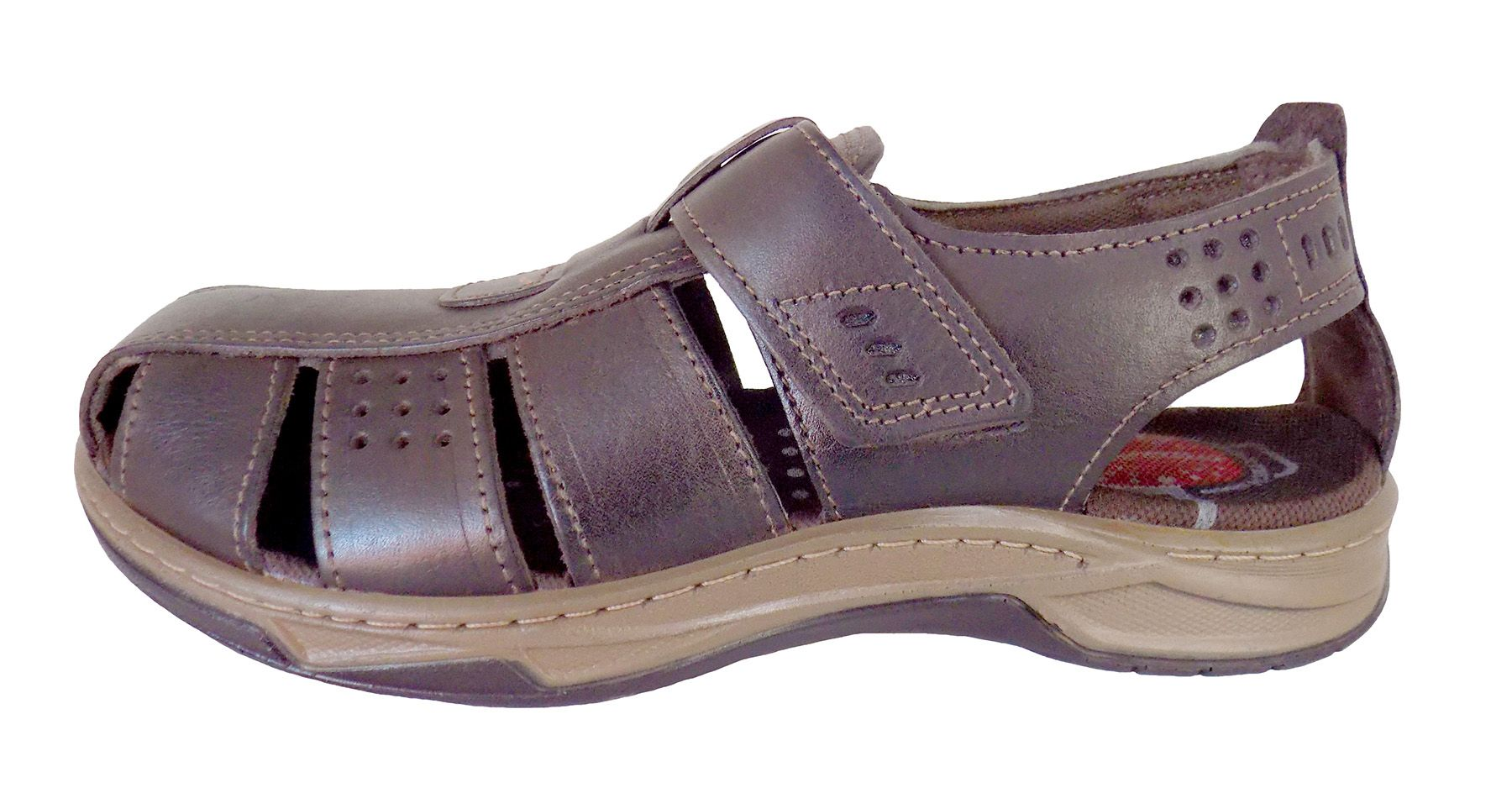 Sandália Masculina Pegada 1009399 Brown