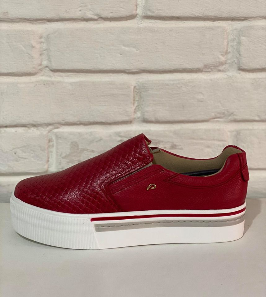 Sapatênis Feminino Pegada Cobra Ruby/Burnished 1010601