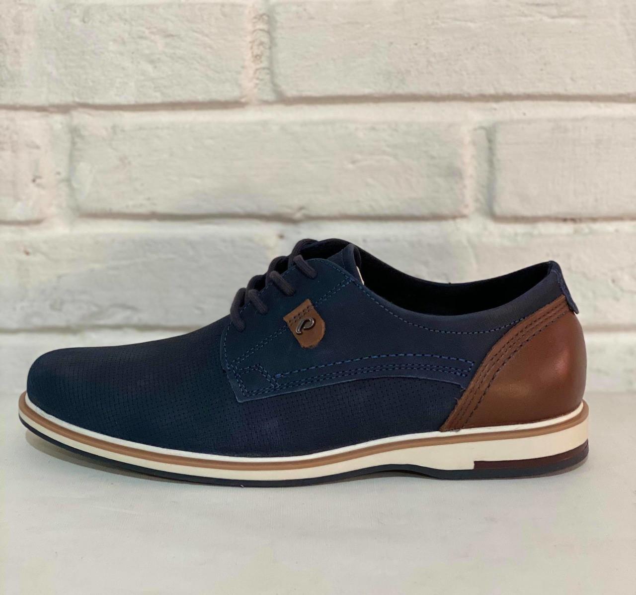 Sapatênis Pegada 1010593 Jeans Blue/Pinhao