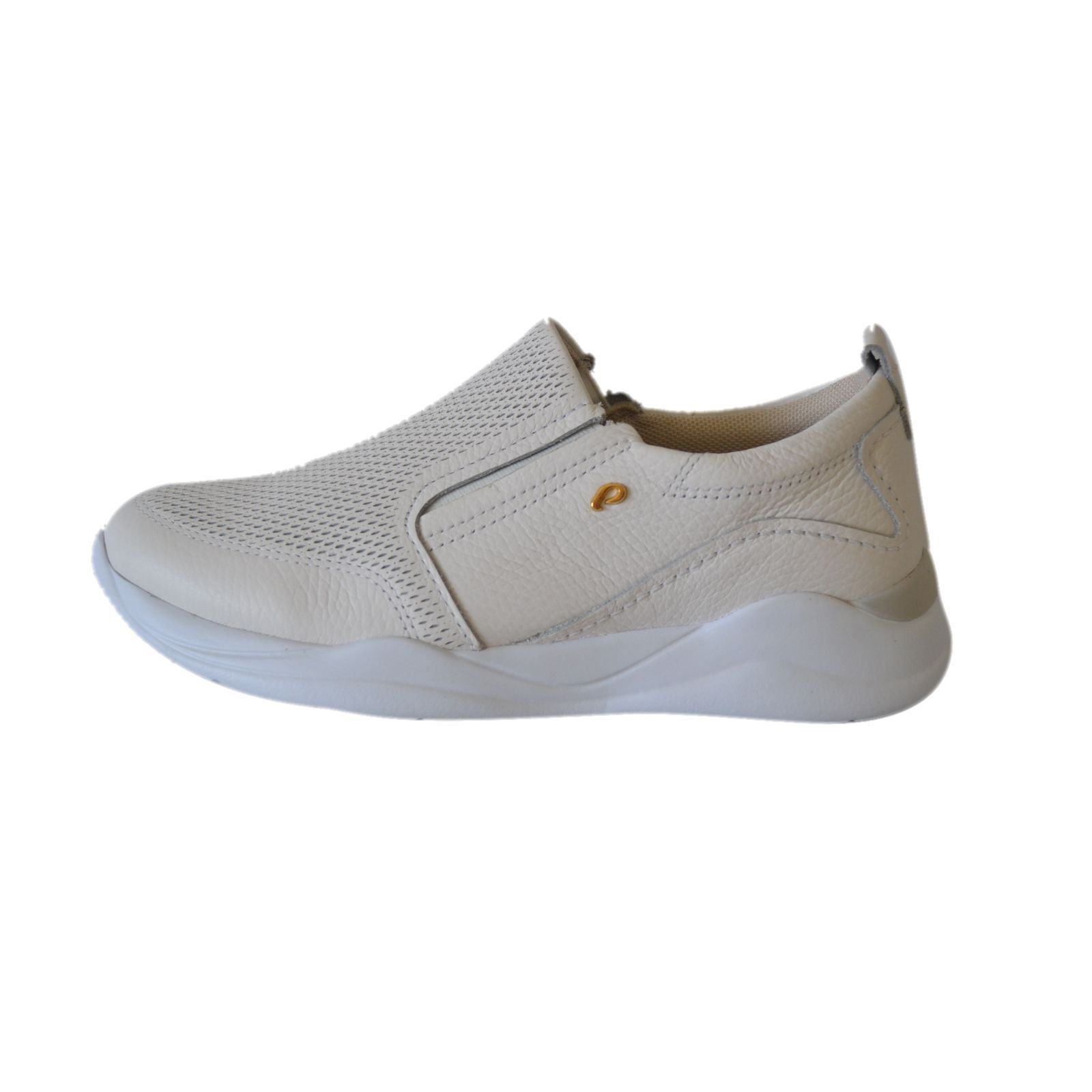 Sapatenis Prata Couro 1009826 Branco