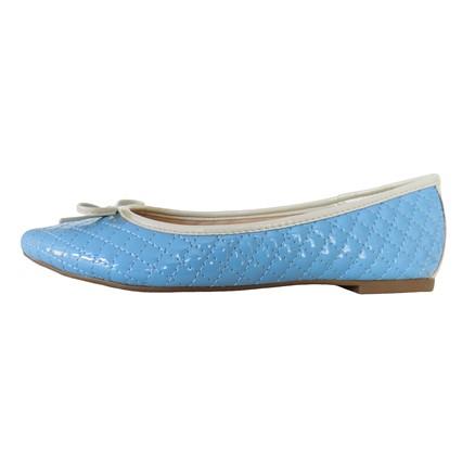 Sapatilha Bico Fino Azul Celeste