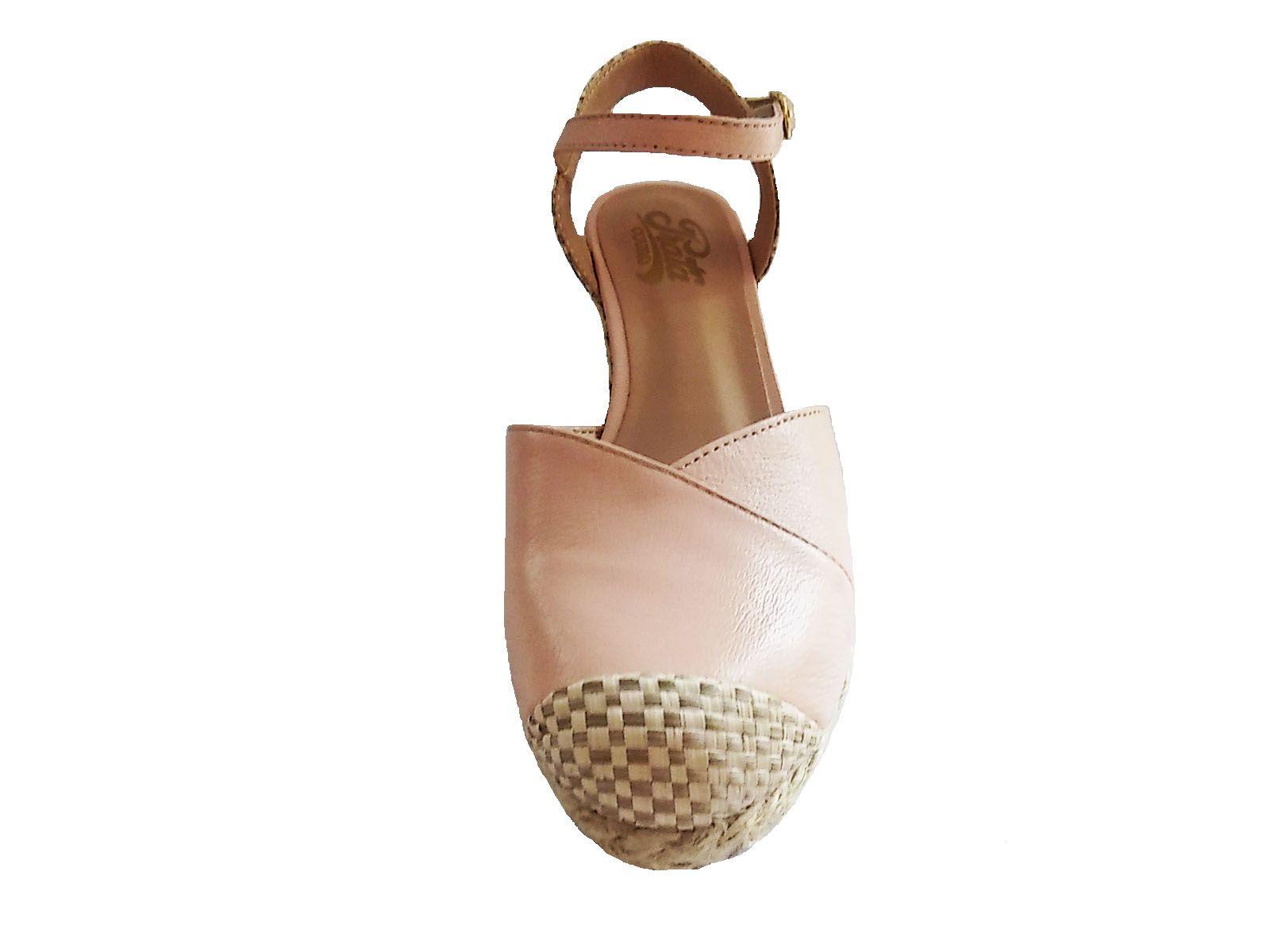 Sapato Anabela 1009411 Rose