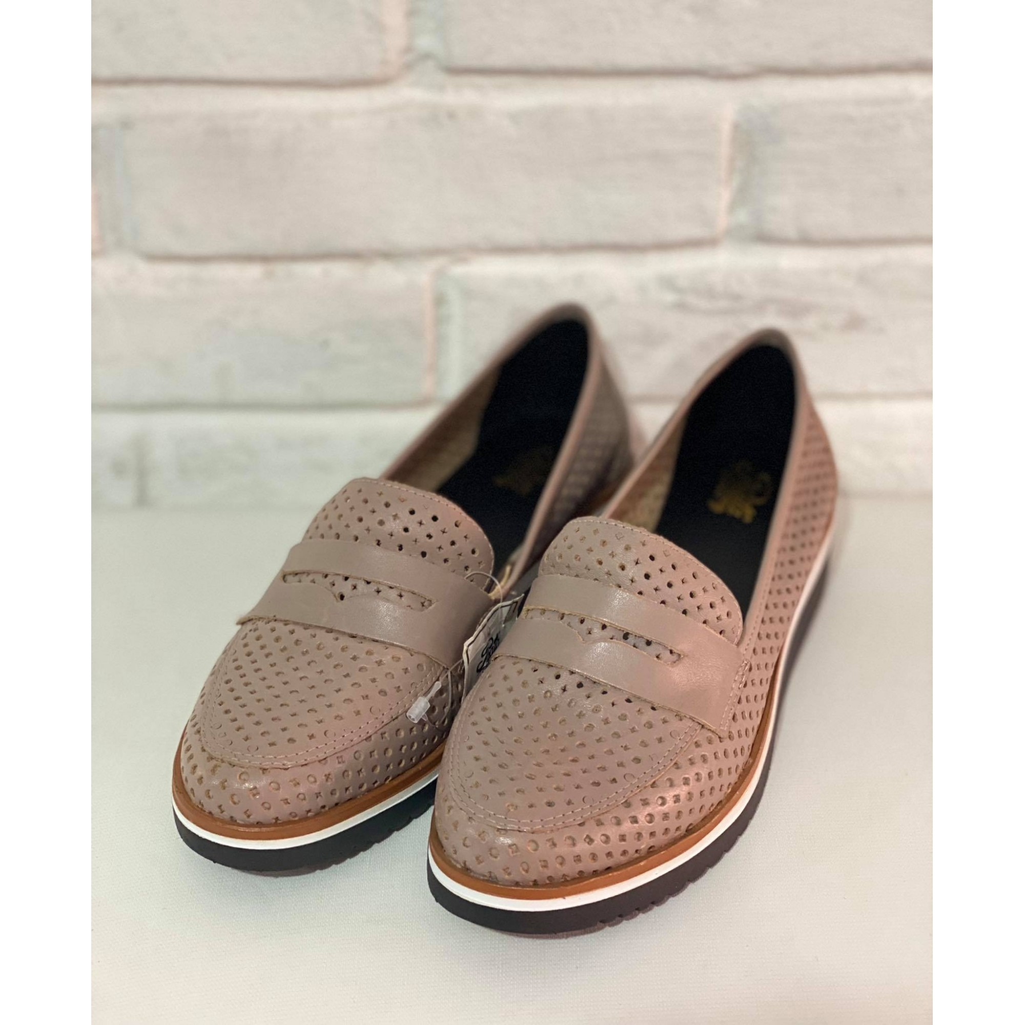 Sapato Feminino Prata Couro 1009513 Sepia