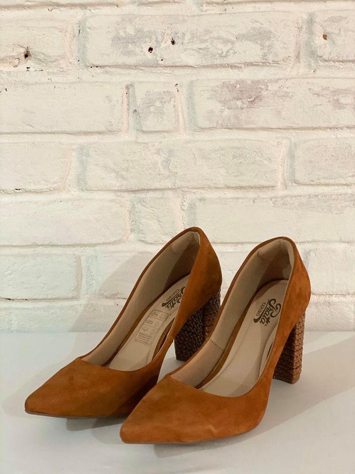 Sapato Feminino Prata Couro 1010308 Conhaque