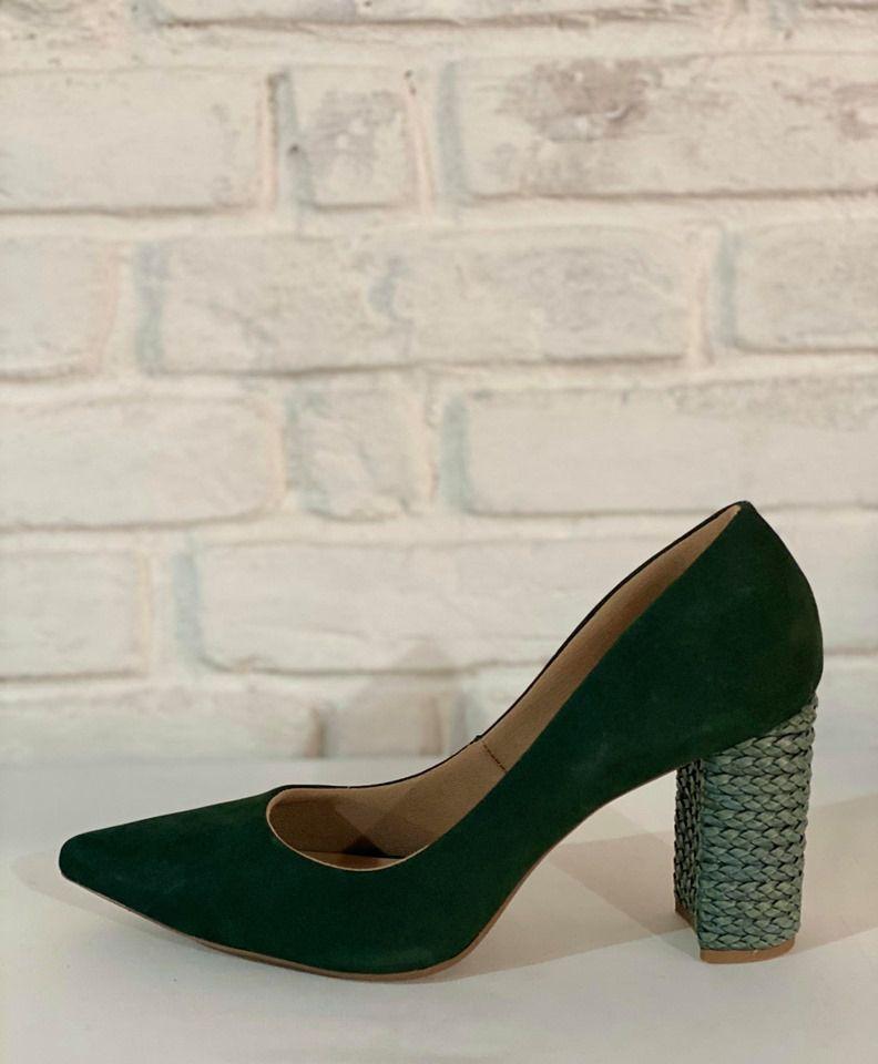 Sapato Feminino Prata Couro 1010309 Verde