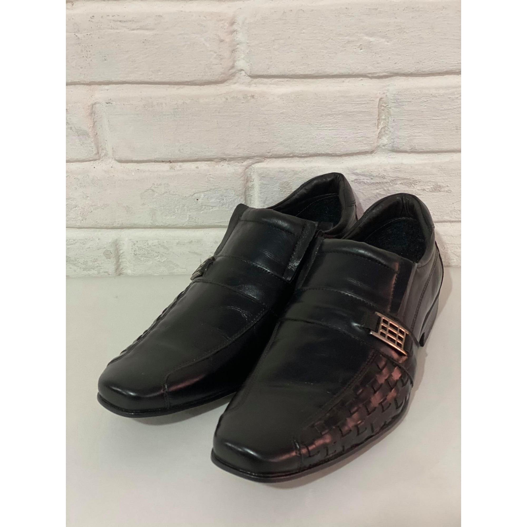 Sapato Masculino Gallipoli 1009272 Preto