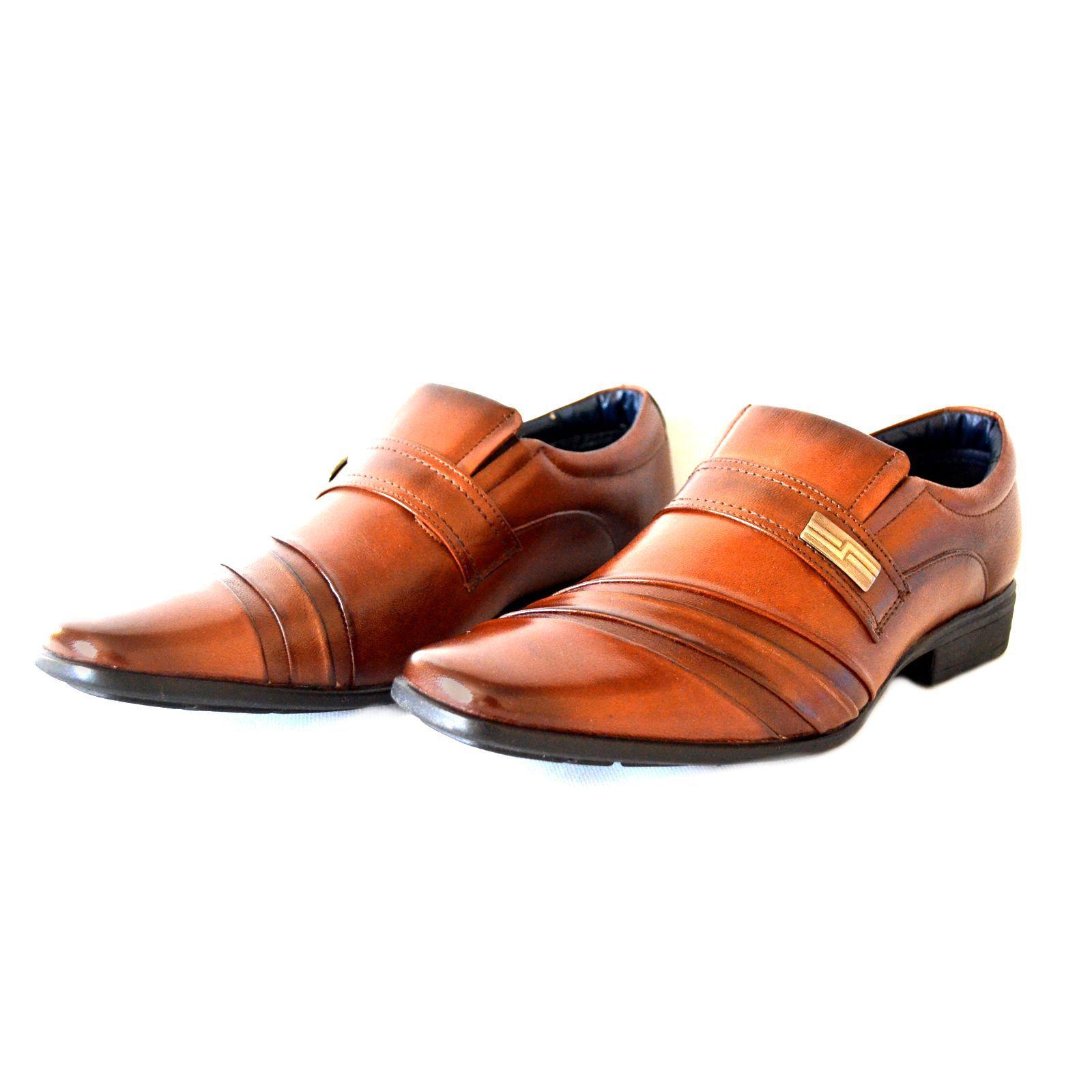 Sapato Prata Couro 1009479 Marrom