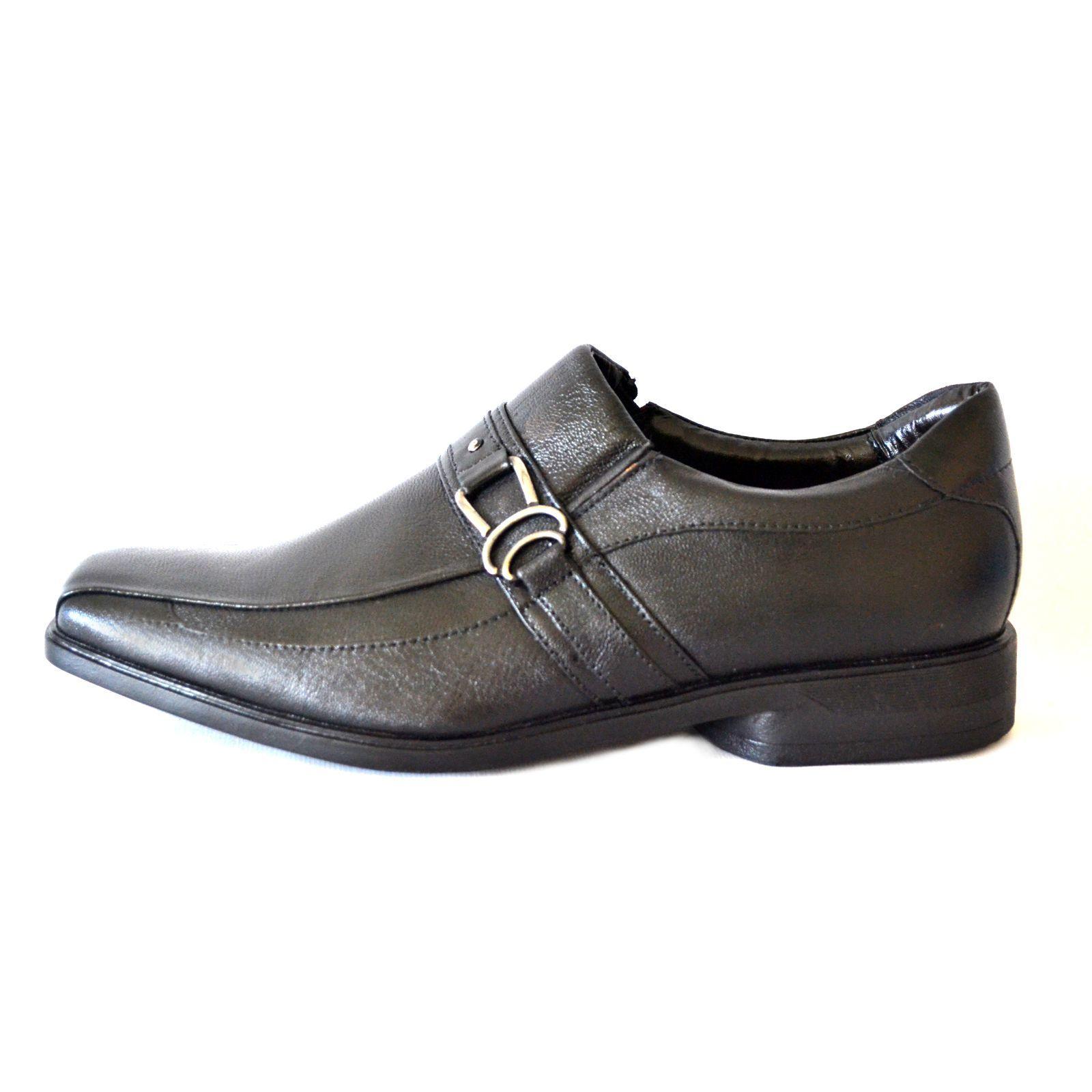 Sapato Prata Couro 1009480 Mestiço Preto