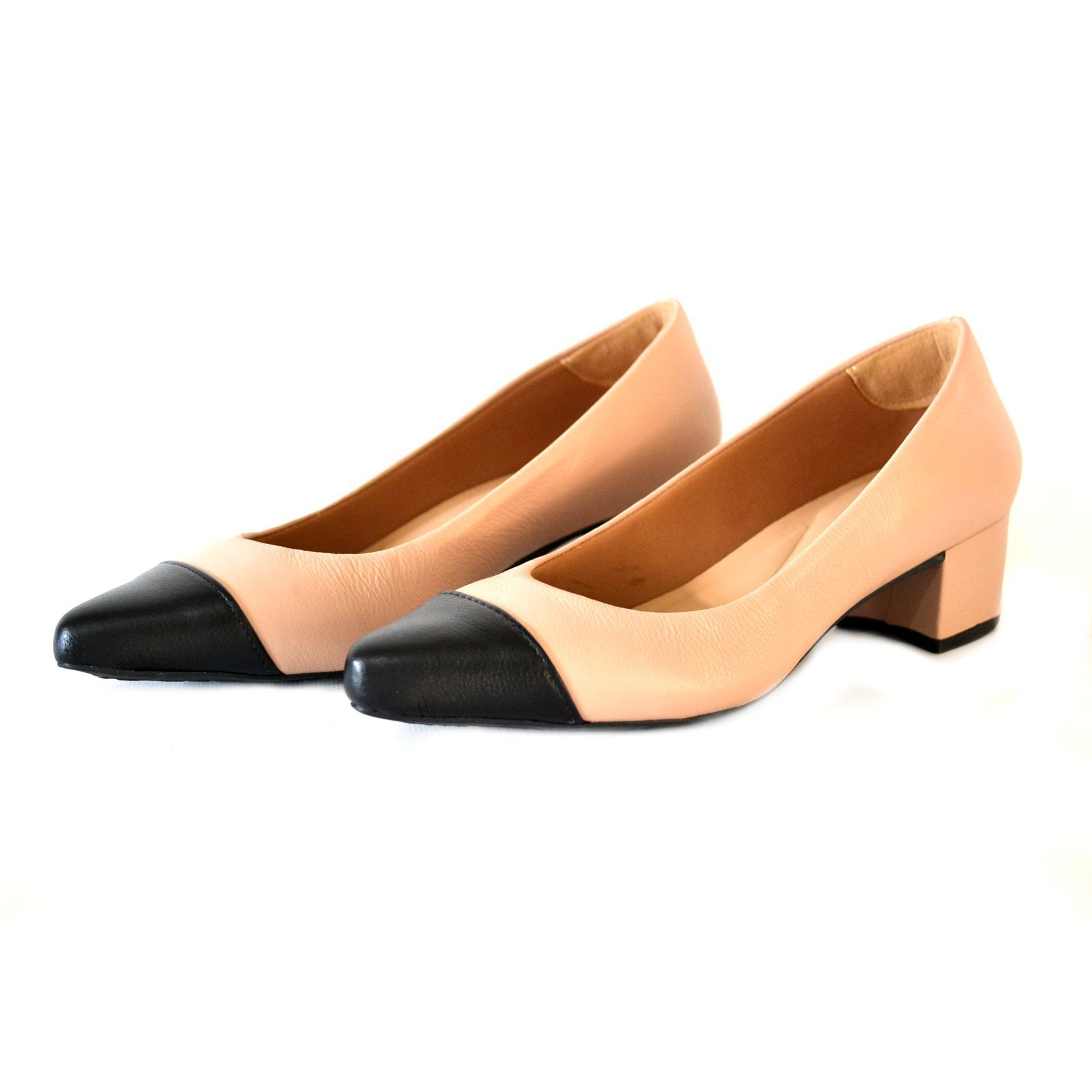 Sapato  Feminino  Prata Couro 1009799 Nude