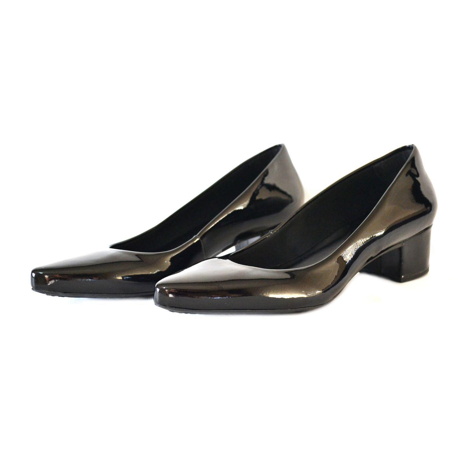 Sapato Feminino   Prata Couro 1009802 Preto/Verniz