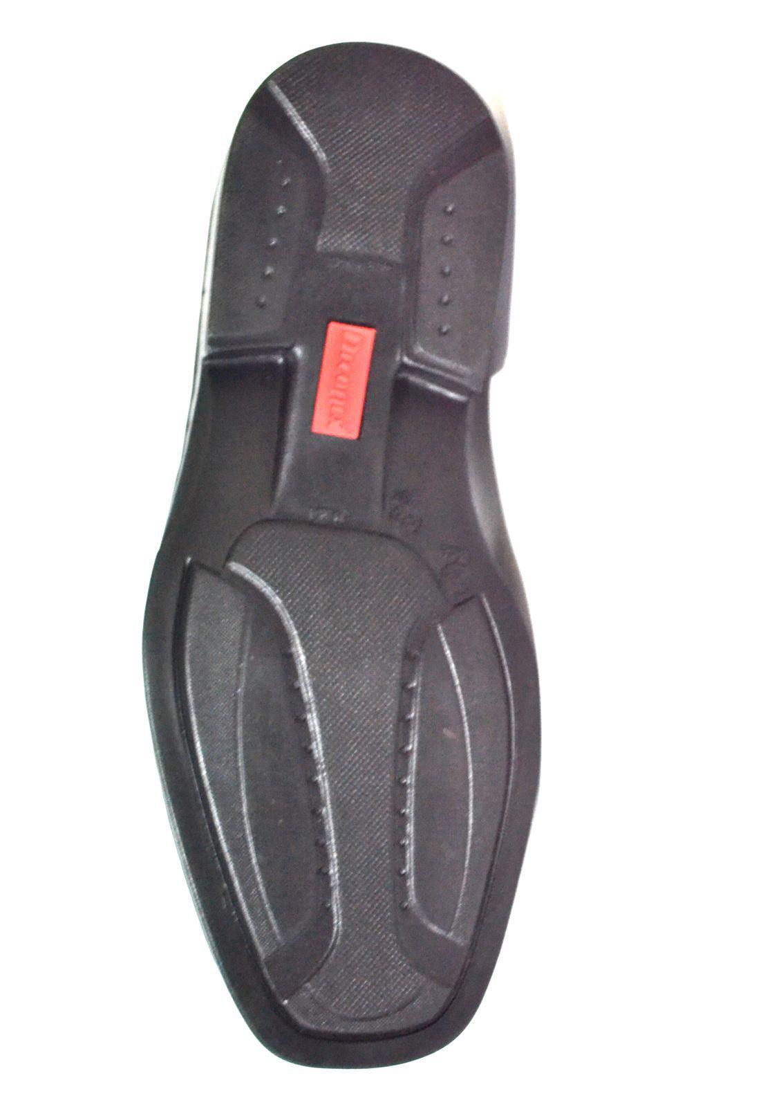Sapato Prata Couro 1010127-  Mestiço Preto