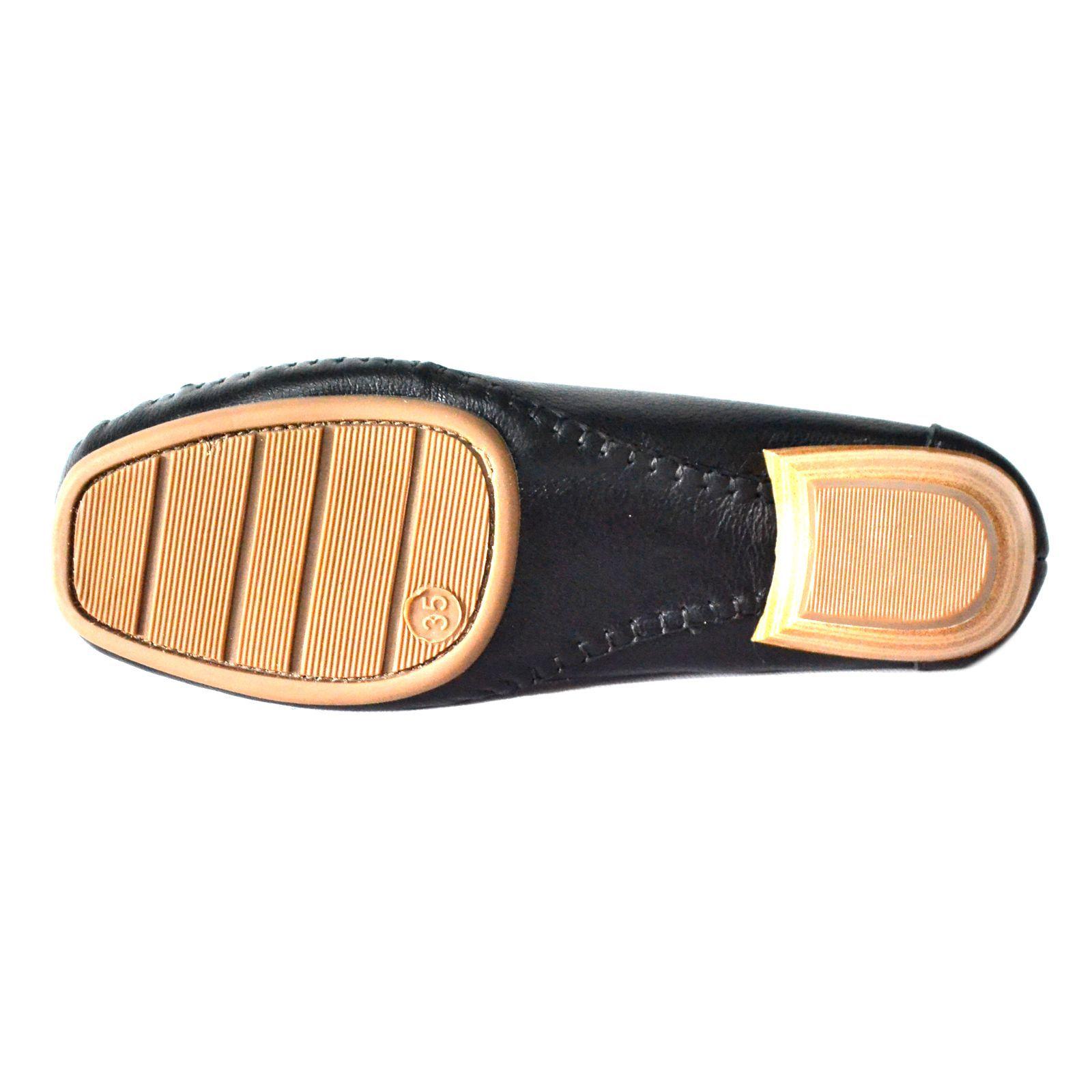 Sapato Prata Couro Conforto 1009804 Preto
