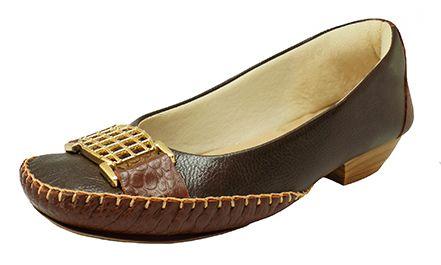 Sapato Prata Couro Conforto