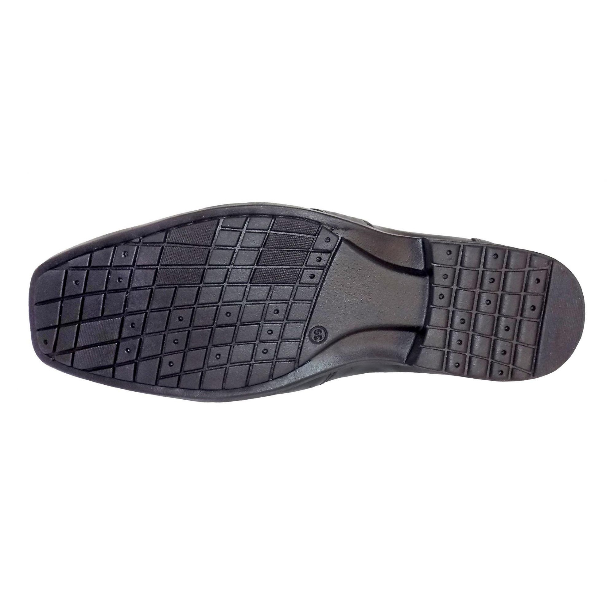 Sapato Prata Couro Zafira 2540