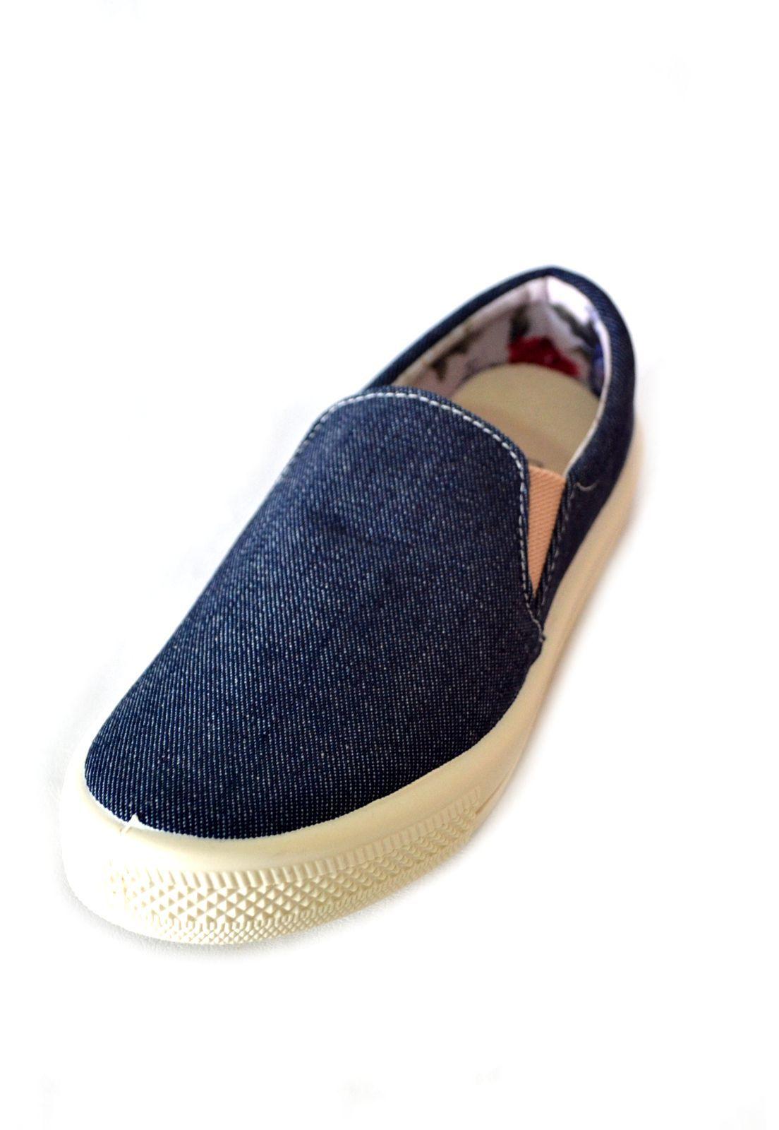 Tênis Iate  Byara 1010300  Jeans Escuro