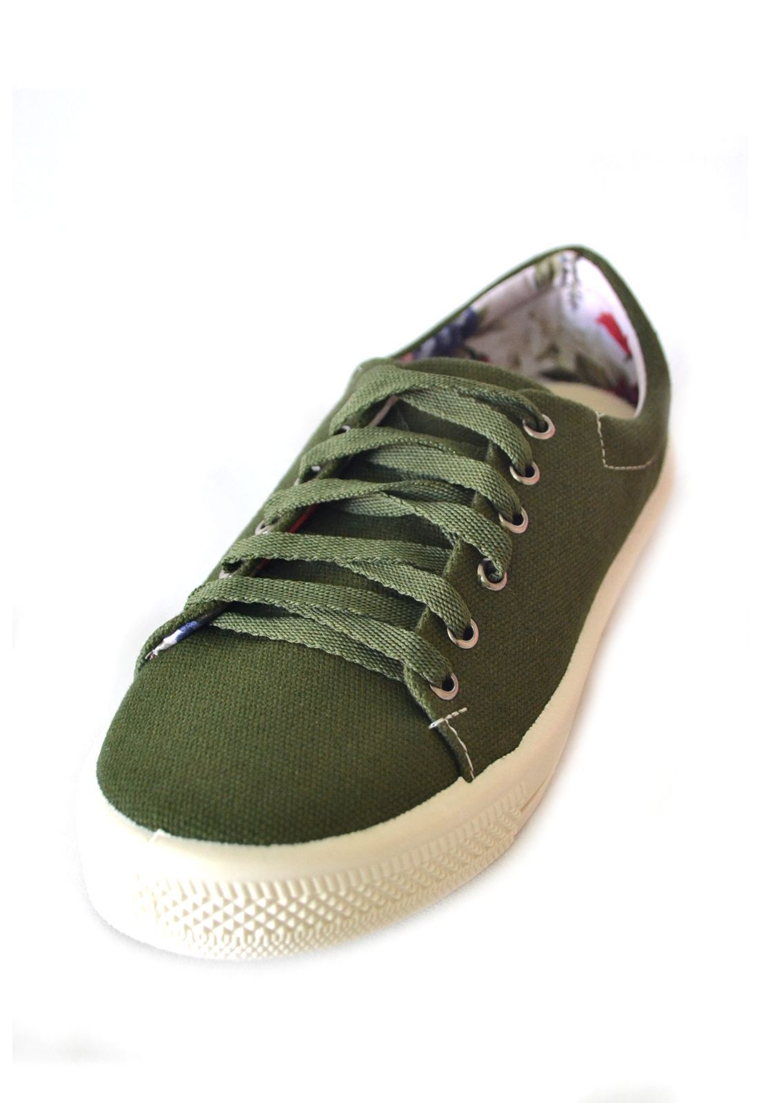 Tênis Feminino Iate  Byara 1010306 Verde Militar