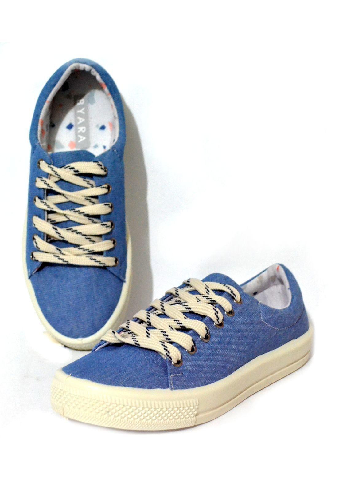 Tênis Iate Lona Jeans Claro 1009893