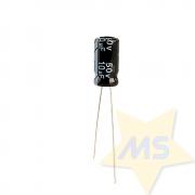 Capacitor Eletrolítico 10uF 50V
