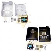 Case Para Raspberry Pi3 + Cooler + Dissipadores