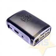 Case Raspberry Pi 2 3 B+ Preto