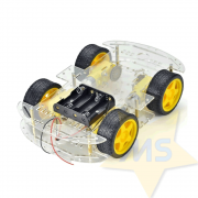 Kit Chassi 4WD Smart  Robô
