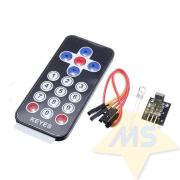 Kit Controle Remoto IR 17 teclas