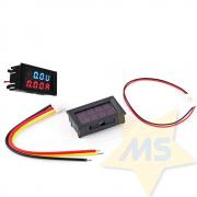 Mini-Voltímetro e Amperímetro digital de LED DC 0-30 V 0-10A