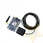 Módulo Gsm Gprs Quad-band Sim808 Com Gps