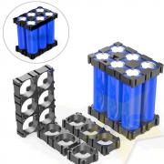 Suporte para Packs de Bateria 18650 Modular com 4 Unidades