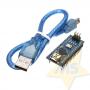 Arduino Nano V3.0 + cabo ATmega 328