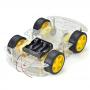 Kit Chassi 4WD Smart  Robô