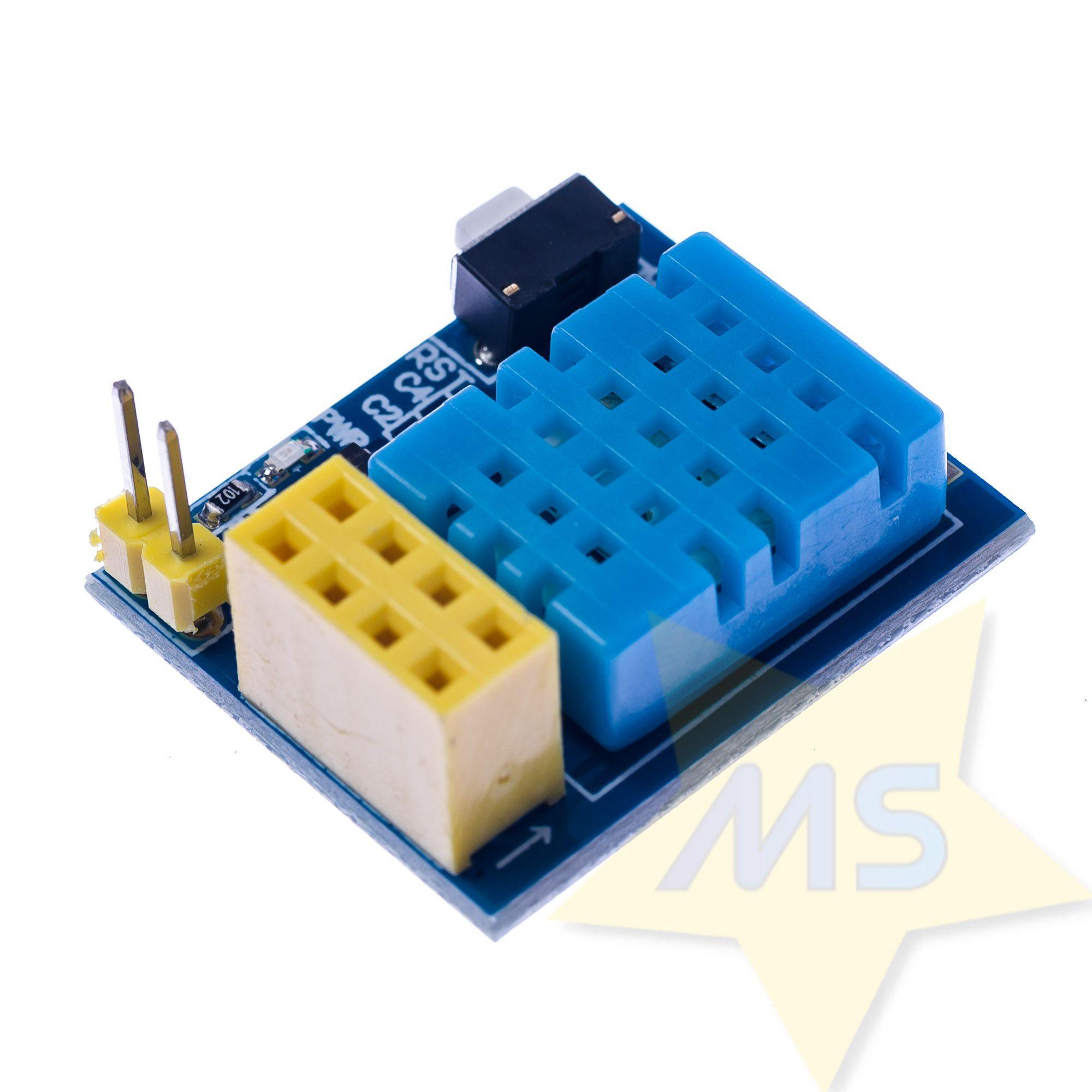 Adaptador ESP8266 ESP-01 com DHT11