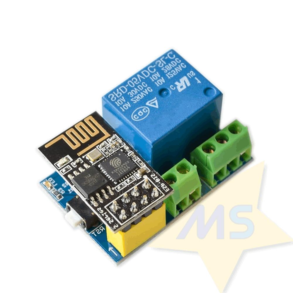 Adaptador ESP8266 ESP-01 com Rele 5V