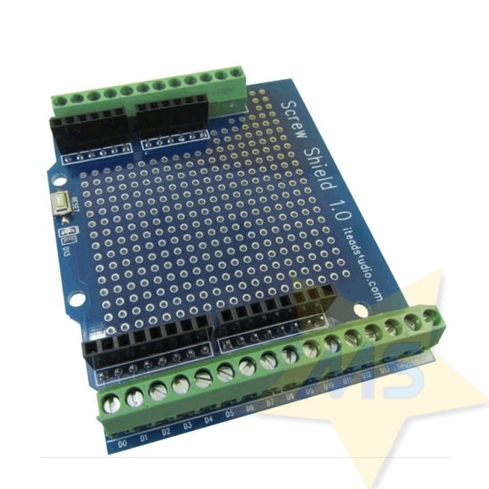Arduino screw shield