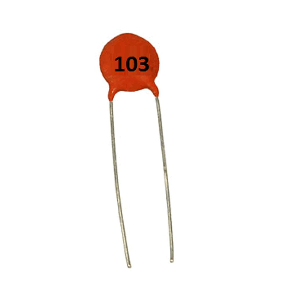 Capacitor cerâmico 10nF 50V