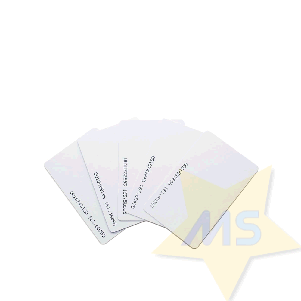 Cartão RFID 125Khz