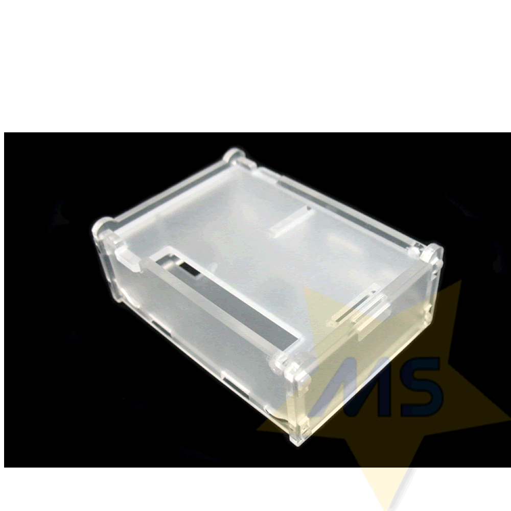 Case Raspberry Pi 3 Acrilico transparente