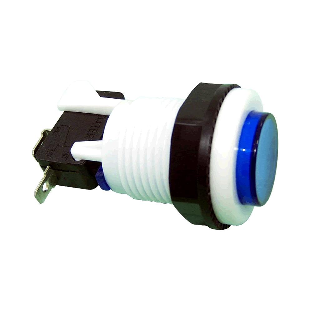 Chave Botão Push Button PBS-29 Azul